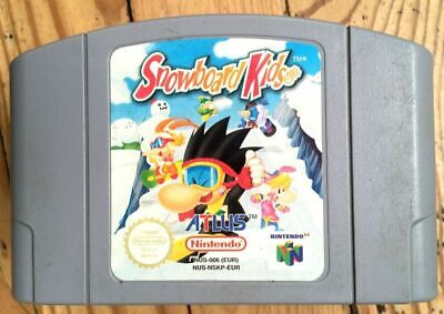 CARTOUCHE SEULE SNOWBOARD KIDS 1 NINTENDO 64 N64 PAL EURO CARTRIDGE ONLY MODUL I
