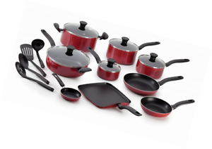 Set Ingenio Tefal 18 Pieces t-fal b165si initiatives nonstick inside and out dishwasher safe 18