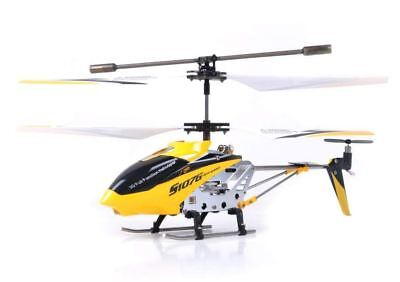 Best Syma R/C Helicopter with Gyro Yellow Rechargeable Remote Control