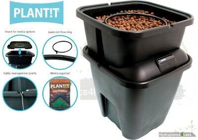 PLANTiT Recirculating Dripper Hydroponic System Gemini Water Ring Growing Clay Pot Dripper System