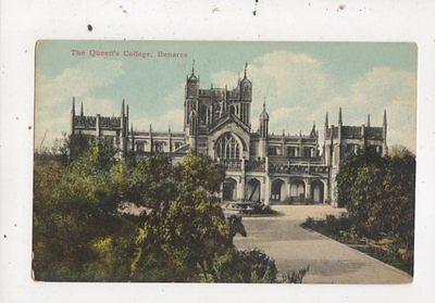 The Queens College Benares India Vintage Postcard 854a