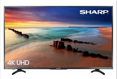 NEW Sharp 50 Inch 4K LED 2160p SMART FULL ULTRA HDTV Roku TV 2019 LATEST MODEL✅