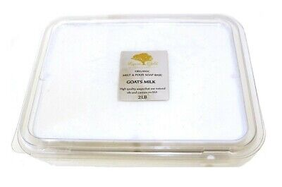 2 Lb Goats Milk Melt And Pour Soap Base SoapMaking Supplies Organic Best