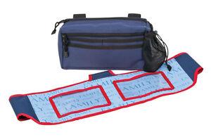 HealthSmart Walker Pouch / Banner Kit Pic Blue Brand New