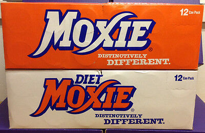 Moxie Soda Regular Or Diet 12 12 Oz Cans   Freshest Stock