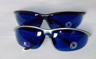 GOLF BALL FINDING SUNGLASSES SPORTS GOLFBALL SUN GLASSES UV 400 BLUE LENS  - Golf Ball Sunglasses