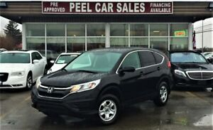 2015 Honda CR-V LX|REAR VIEW|HEATED SEATS|ACCIDENT FREE|