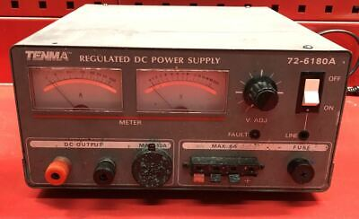 Tenma 72-6180a Regulated Dc Power Supply