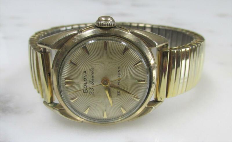 Vintage Bulova Self-Winding Wristwatch w/ Flex Band; 23 Jewels ~ 18-G972