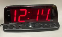 Radio Shack Large 2 LED Display Alarm Clock 63-960