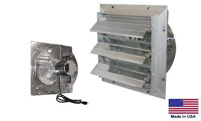 Exhaust Fan Commercial - Direct Drive - 24 - 115v - Variable Speed - 4640 Cfm