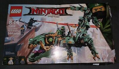 LEGO The LEGO Ninjago Movie Green Ninja Mech Dragon 2017 (70612) *OPEN BOX*