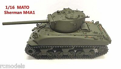 Mato Tank Sherman 1:16 M4A1 BN -- Perfect and Correct Model for British Firefly for sale  Cardiff