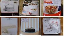 CORELLE / PYREX / TRAY – ALL BOXED – BRAND NEW – 40% off RRP Wantirna Knox Area Preview