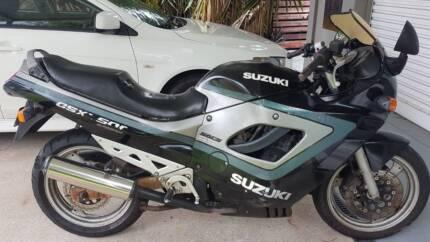 Suzuki GSX750 Mooroobool Cairns City Preview