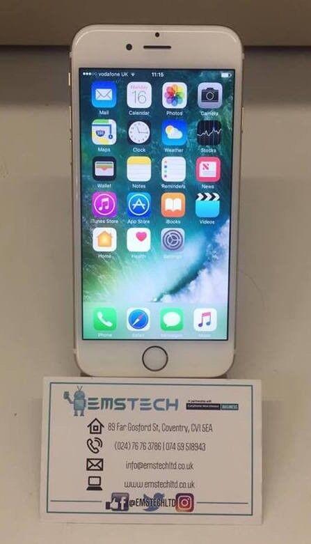 Apple iPhone 6S 16gb Unlocked Receipt Provided - Gold