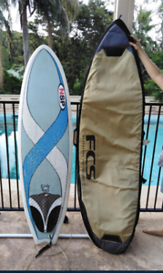 Surfboard Fish 6' with Carry Bag