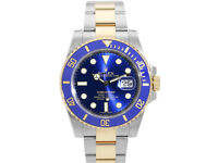 Rolex submariner blue face