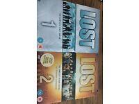 Lost series 1,2