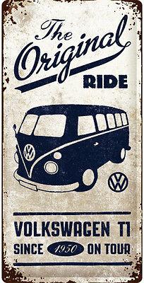 Vintage VW Bus Reklame Werkstatt Service Schild Poster Samba Garage Deko *183