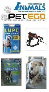 2 BRAND NEW Dog Products - 1 Seatbelt and 1 Walking Harness Size