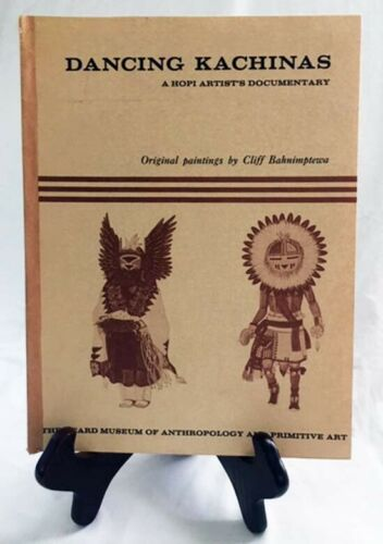 Dancing Kachinas by The Heard Museum of Phoenix—Nice 1971 Paperback