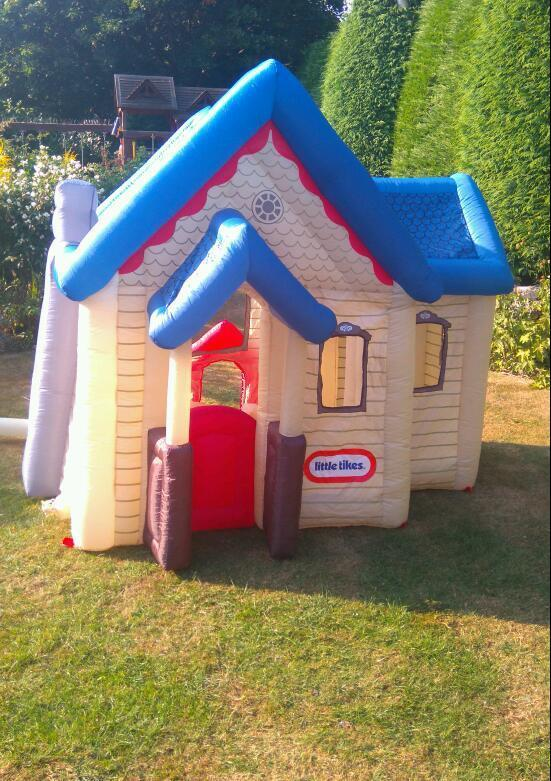 Indoor House Bouncing Pact Bouncer Home Inflatable With R And Slide Fun