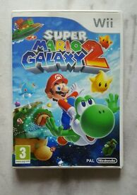 Super mario galaxy 2 for the Nintendo Wii