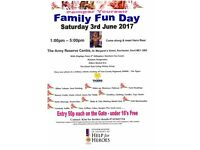 Pamper Yourself Family Fun Day in aid of Help for Heroes