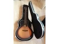 Tanglewood TRSJ VS Super Jumbo acoustic guitar with case