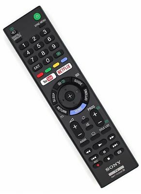 Genuine Sony RMT-TX300E Remote Control For 2017 - 2018 Android Netflix Smart