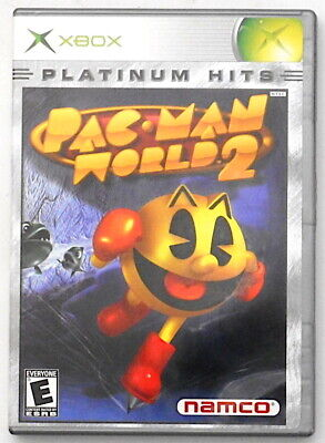 Pac-Man World 2 Platinum Hits XBOX (Microsoft, 2002) Namco Complete