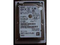 2.5 inch 1TB hard drive (hdd)