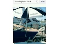 The ShipShade sun shade umbrella for yachts and boats (or use as a beach umbrella) RRP £80-£100
