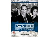 Law and order special victims unit - season 3