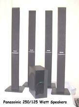 250/125 Watt Panasonic Surround Speaker Set Inala Brisbane South West Preview