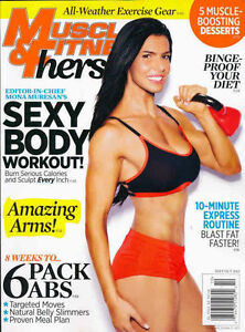 Muscle & Fitness Hers, Sept./Oct. 2013, Cover Mona Muresan