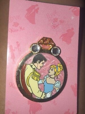 Disney Pin Princess Engagement Ring Mystery Reveal Conceal Cinderella Prince