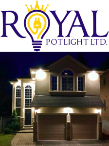 Professional Pot light Installation with Lifetime Warranty