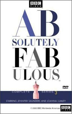 Absolutely Fabulous - Complete Series 3 (DVD, 2001) NEW