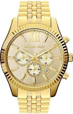 Original Michael Kors Herren Uhr MK8281 Lexington Chronograph Neu & Ovp