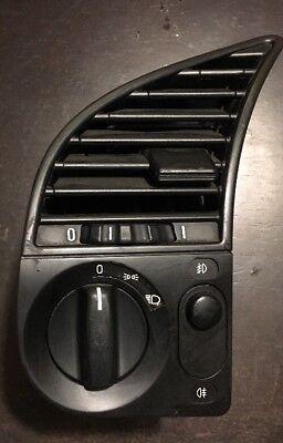 BMW E36 Headlight Fog Light Switch , Air Vent Panel 1992-1999 OEM BMW  Bmw Fog Light Switch
