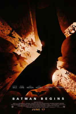 Batman Begins New Movie Poster - BATMAN BEGINS Movie Poster | 11x17 | Licensed - New | Nolan, Bale, Cain (2005)