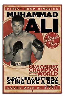 Muhammad Ali Vintage Large Wall Poster New Sealed