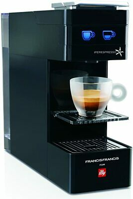 Francis Francis illy  Y3 Iperespresso Machine, Instruction Booklet, Clean, Black