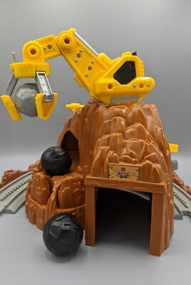 GeoTrax Rail & Road System Mountain Blast Construction Train Set, Fisher Price