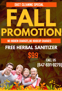 Fall Promotion $99