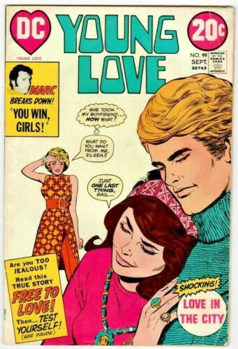 Young Love  No.99  DC 1972  Scarce  VG+
