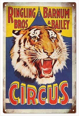 Ringling Bros Barnum & Bailey Circus Sign With Tiger Classic