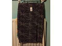 Black Petite Skirt